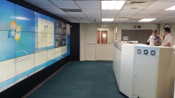 松山機場控制室